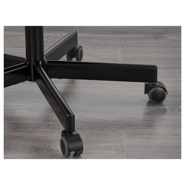 FLINTAN Kancelárska stolička, Vissle sivá