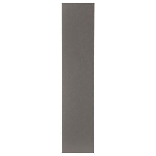 FLORNES dvierka s pántmi tmavosivá 49.5 cm 229.4 cm 236.4 cm 1.6 cm