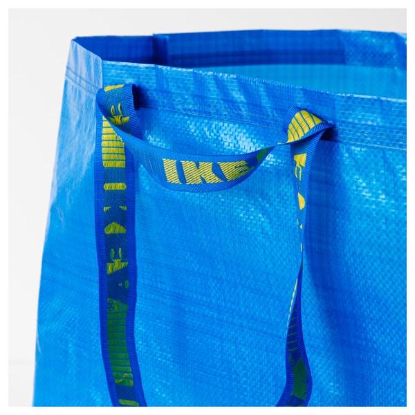 FRAKTA Nákupná taška, veľká, modrá, 55x37x35 cm/71 l
