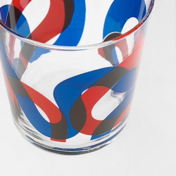 FRAMKALLA pohár vzorovaný 9 cm 30 cl 6 ks