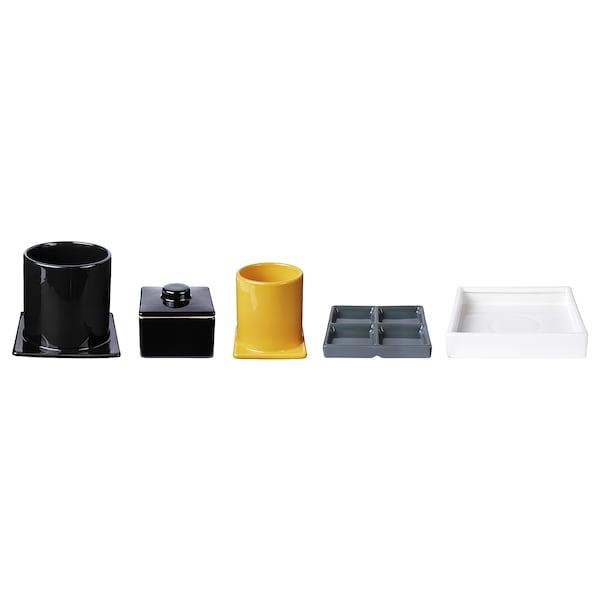 FREKVENS súprava na servírovanie, 5-dielná rôzne farby