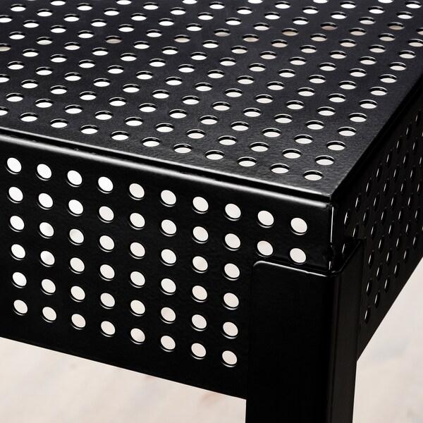 FREKVENS barový stôl, vnútorný/vonkajší čierna 51 cm 51 cm 99 cm