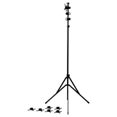 FREKVENS trojnožka čierna 90 cm 90 cm 130 cm 100 cm 180 cm