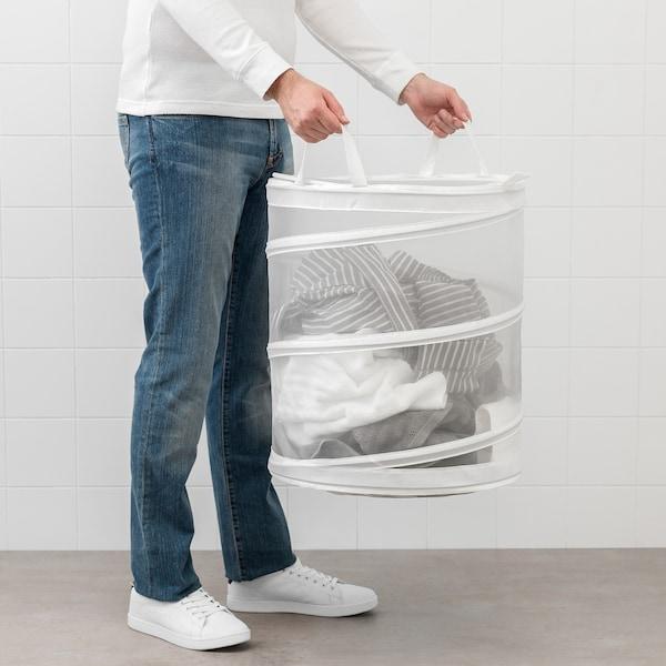 FYLLEN kôš na bielizeň biela 50 cm 45 cm 79 l