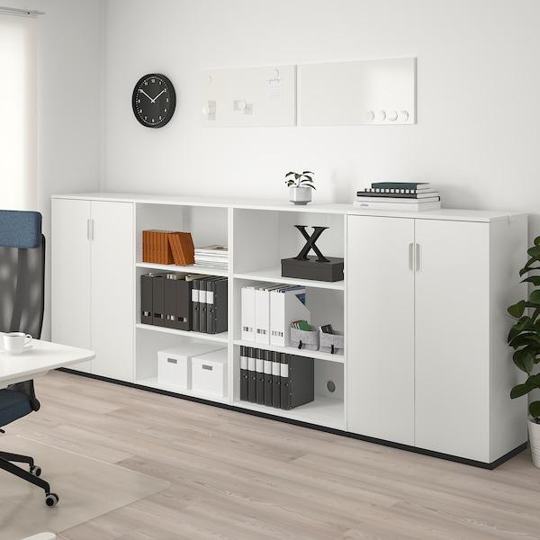 GALANT Úložná kombinácia, biela, 320x120 cm