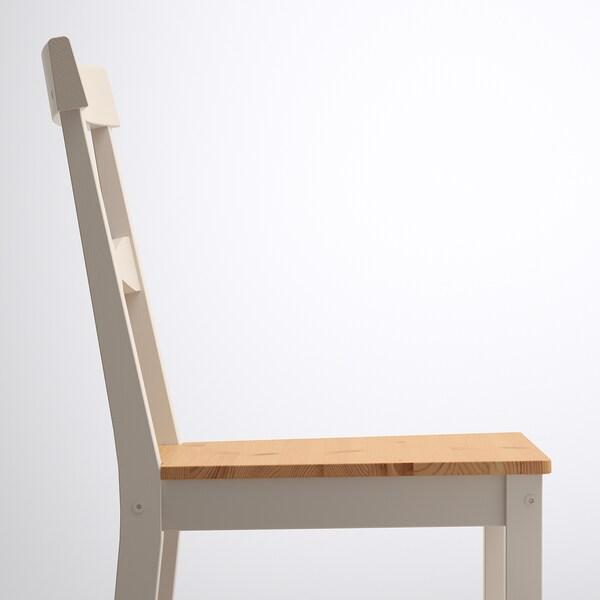 GAMLEBY Stolička, svetlé moridlo, patina/sivá