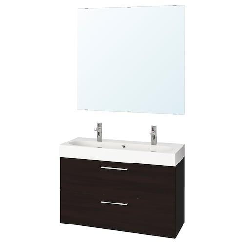 IKEA GODMORGON / BRÅVIKEN Nábytok do kúpeľne, súprava 5ks