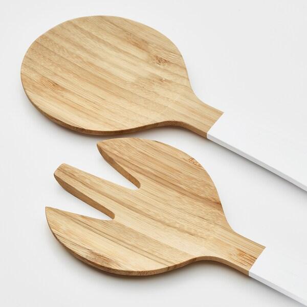 GRIPANDE servírovacia súprava, 2 ks bambus/biela 31 cm
