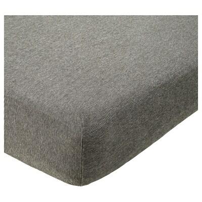 GRONG Poťah na rozkladaciu posteľ, sivá