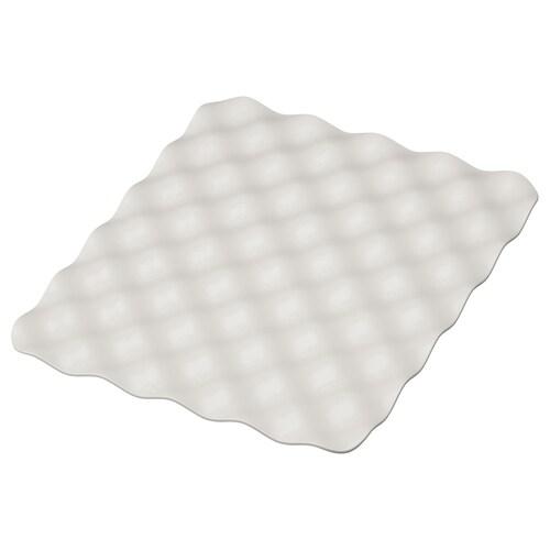 GRUNDVATTNET podložka sivá 32 cm 26 cm 1 cm 0.08 m²