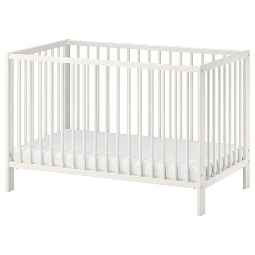 GULLIVER detská postieľka biela 123 cm 66 cm 80 cm 60 cm 120 cm 20 kg