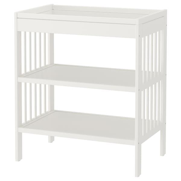 GULLIVER Prebaľovací stôl, biela