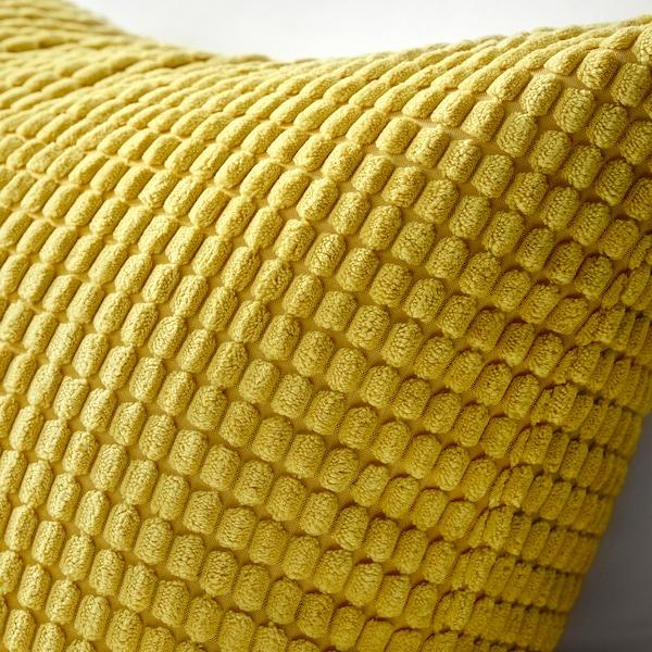 GULLKLOCKA Poťah na vankúš, žltá, 50x50 cm
