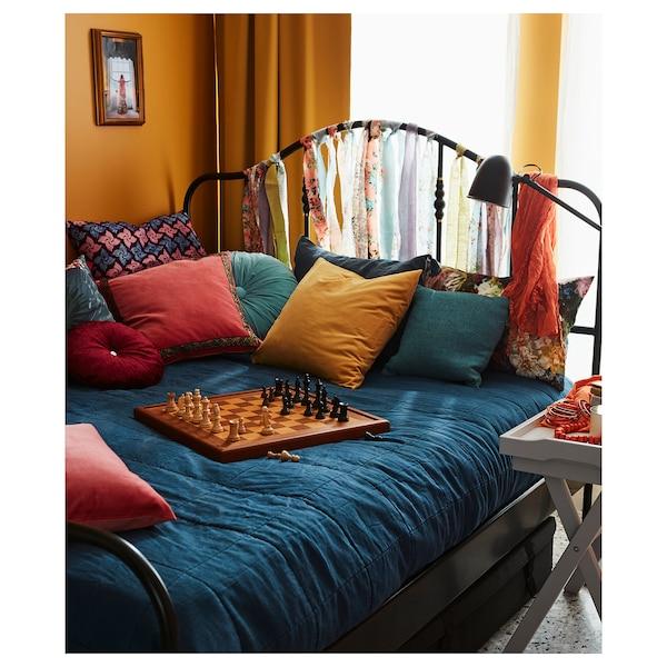 GULVED posteľná prikrývka tmavomodrá 250 cm 180 cm