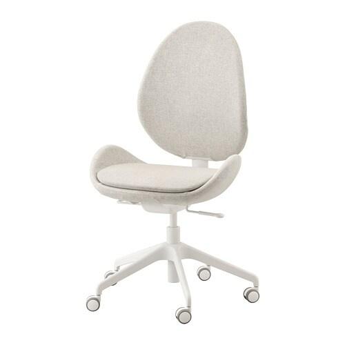 a98d15ba7652 HATTEFJÄLL Kancelárska stolička - Gunnared béžová - IKEA