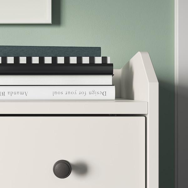 HAUGA Komoda, 6 zásuviek, biela, 138x84 cm