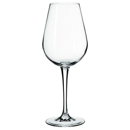 HEDERLIG pohár na biele víno číre sklo 22 cm 35 cl