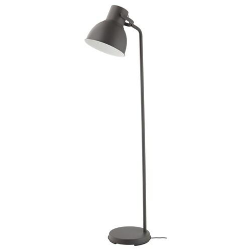 HEKTAR stojacia lampa tmavosivá 53 W 181 cm 31.5 cm 187 cm