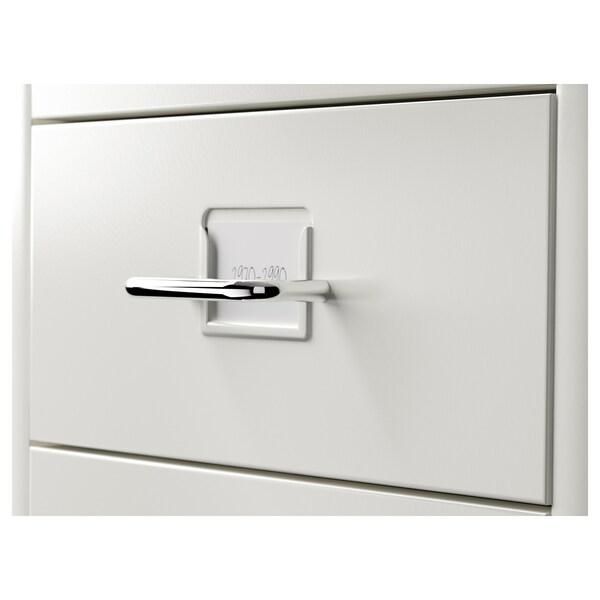 HELMER Zásuvkový diel na kolieskach, biela, 28x69 cm