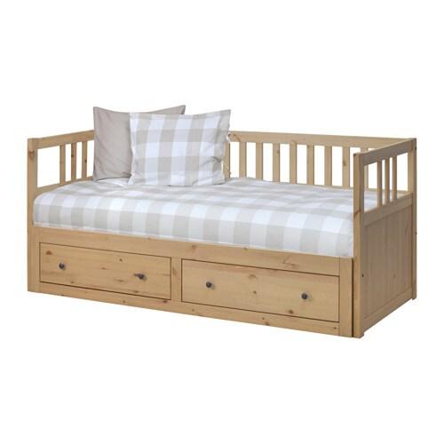 bf410705651d HEMNES Rám rozkladacej postele s úlož pr - IKEA