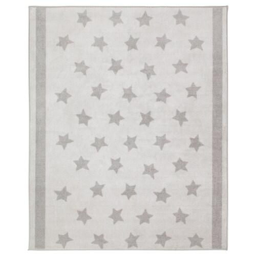 HIMMELSK koberec sivá 160 cm 133 cm 2.12 m²