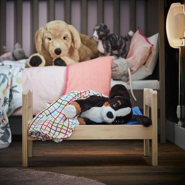 HOPPIG Plyšová hračka, pes/bernský salašnícky pes, 36 cm
