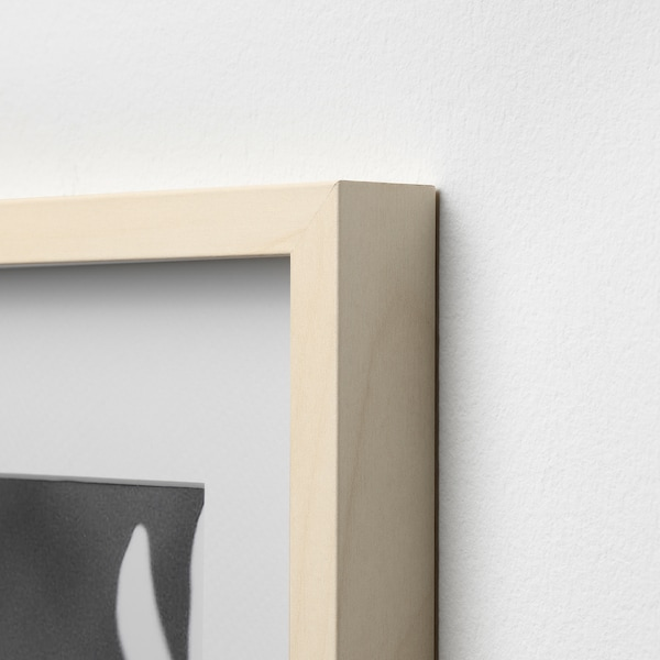 HOVSTA Rám, brezový efekt, 40x50 cm