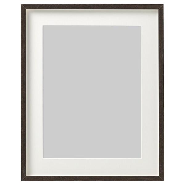 HOVSTA Rám, tmavohnedá, 40x50 cm