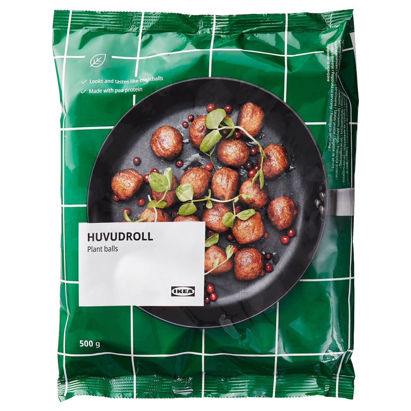 HUVUDROLL Bezmäsité guľôčky, mrazené, 500 g