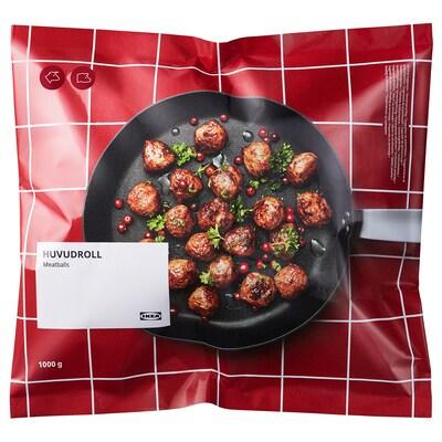 HUVUDROLL Mäsové guľôčky, mrazené, 1000 g