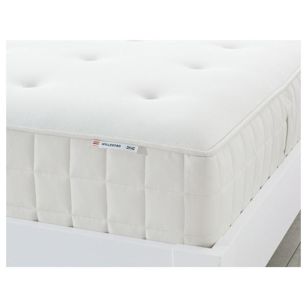 HYLLESTAD matrac s kapsulovými pružinami stredne tvrdý/biela 200 cm 180 cm 27 cm