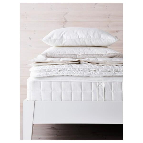 HYLLESTAD matrac s kapsulovými pružinami tvrdý/biela 200 cm 90 cm 27 cm