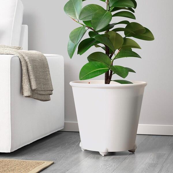 IKEA PS FEJÖ samozavlažovací kvetináč biela 35 cm 39 cm 32 cm 35 cm