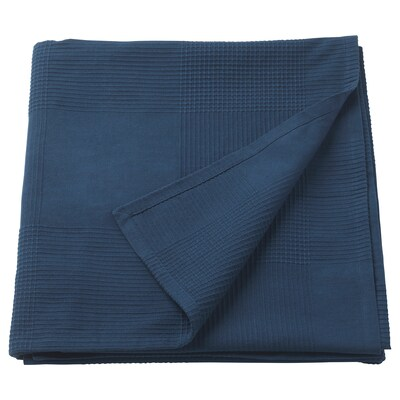INDIRA posteľná prikrývka tmavomodrá 250 cm 230 cm