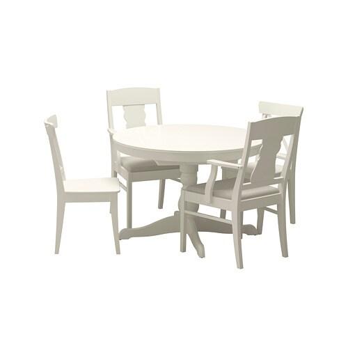 db4485a6ca0f INGATORP   INGOLF Stôl a 4 stoličky - IKEA