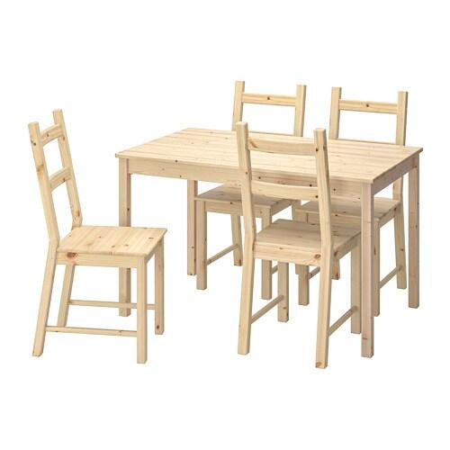49f4e54981e1e INGO / IVAR Stôl a 4 stoličky IKEA Masívna borovica je prírodný materiál,  ktorý starne