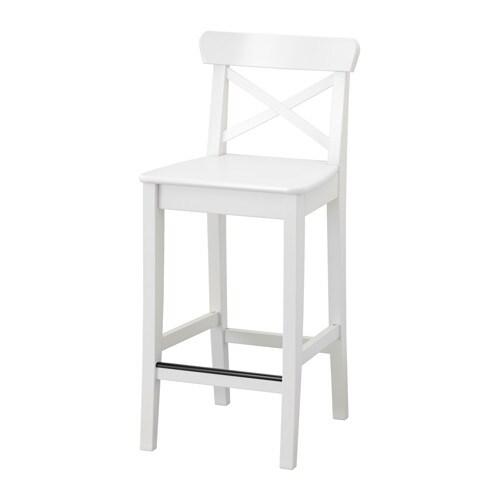INGOLF Barov225 stolika 63 cm IKEA : ingolf barova stolicka biela0452401PE601345S4 from www.ikea.com size 500 x 500 jpeg 12kB
