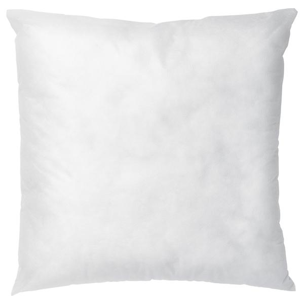 INNER Vnútorný vankúš, biela, 50x50 cm