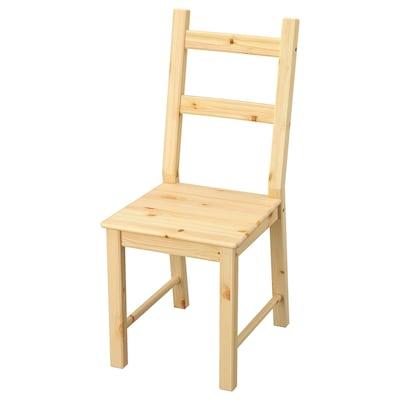 IVAR stolička borovica 110 kg 41 cm 50 cm 95 cm 39 cm 40 cm 45 cm
