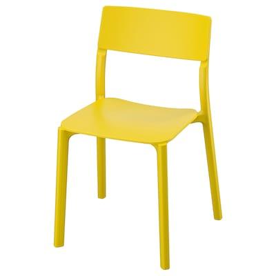 JANINGE Stolička, žltá