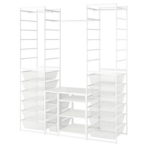 IKEA JONAXEL Rám/sieť koš/vešiak/policové diely