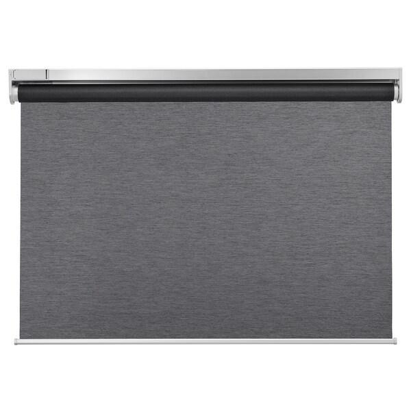 KADRILJ Roleta, bezdrôtová/na batérie sivá, 100x195 cm