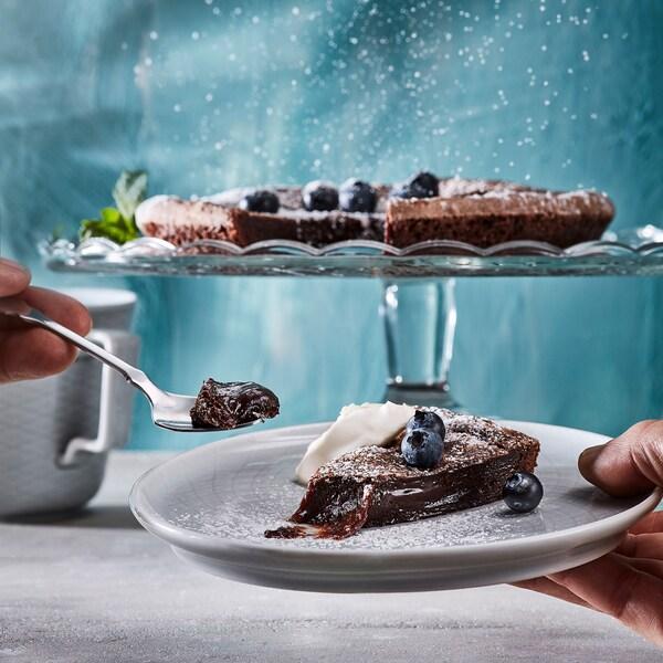 KAFFEREP lávový čokoládový koláč mrazené/Certifikát UTZ 400 g