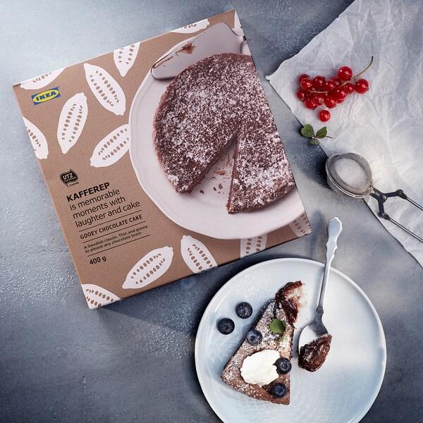 KAFFEREP Lávový čokoládový koláč, mrazené/Certifikát UTZ, 400 g