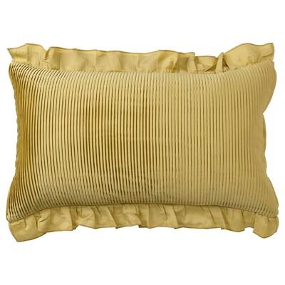 KARISMATISK Poťah na vankúš, zlatá, 40x65 cm