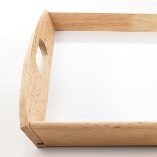 KLACK Podnos, kaučukovník, 38x58 cm