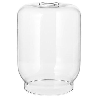 KLOVAN tienidlo na závesnú lampu číre sklo 15 cm 15 cm 20 cm 15 cm