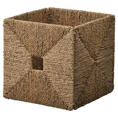 KNIPSA Košík, morská tráva, 32x33x32 cm