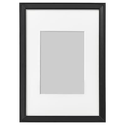 KNOPPÄNG Rám, čierna, 21x30 cm