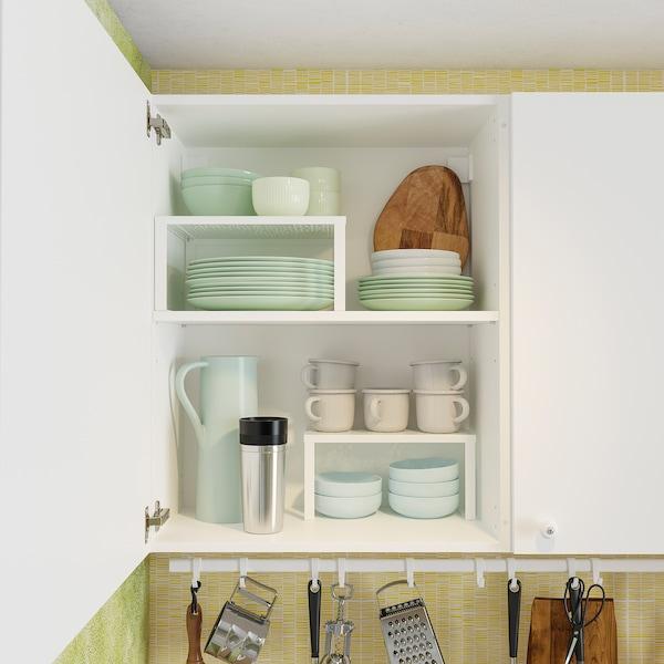 KNOXHULT Kuchyňa, biela, 220x61x220 cm
